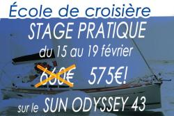 Promotion voile stage