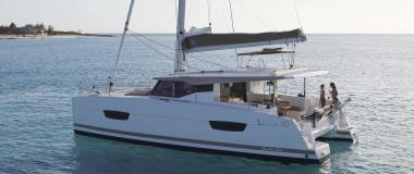 vue Lucia 40 FOUNTAINE PAJOT
